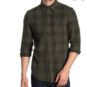 NWT Calvin Klein Flannel Button Down Shirt Small